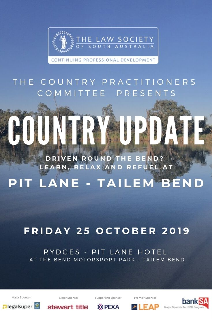 Country Update - Tailem Bend